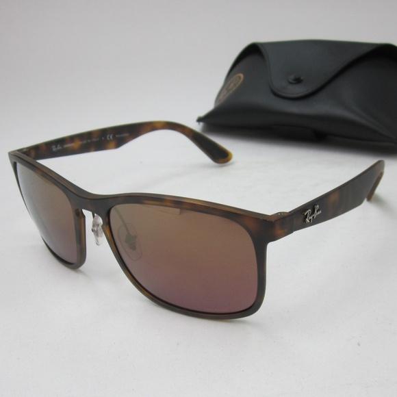 60524e2c48 RayBan RB 4264 Polarized Sunglasses Unisex OLG507.  M 5b76f31103087cc2030ca4e5
